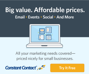 Try Constant Contact for Free